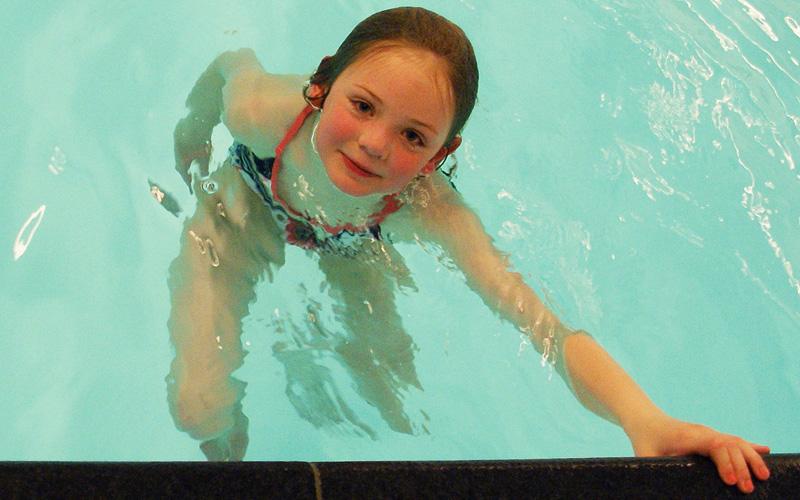zwemles-oefening